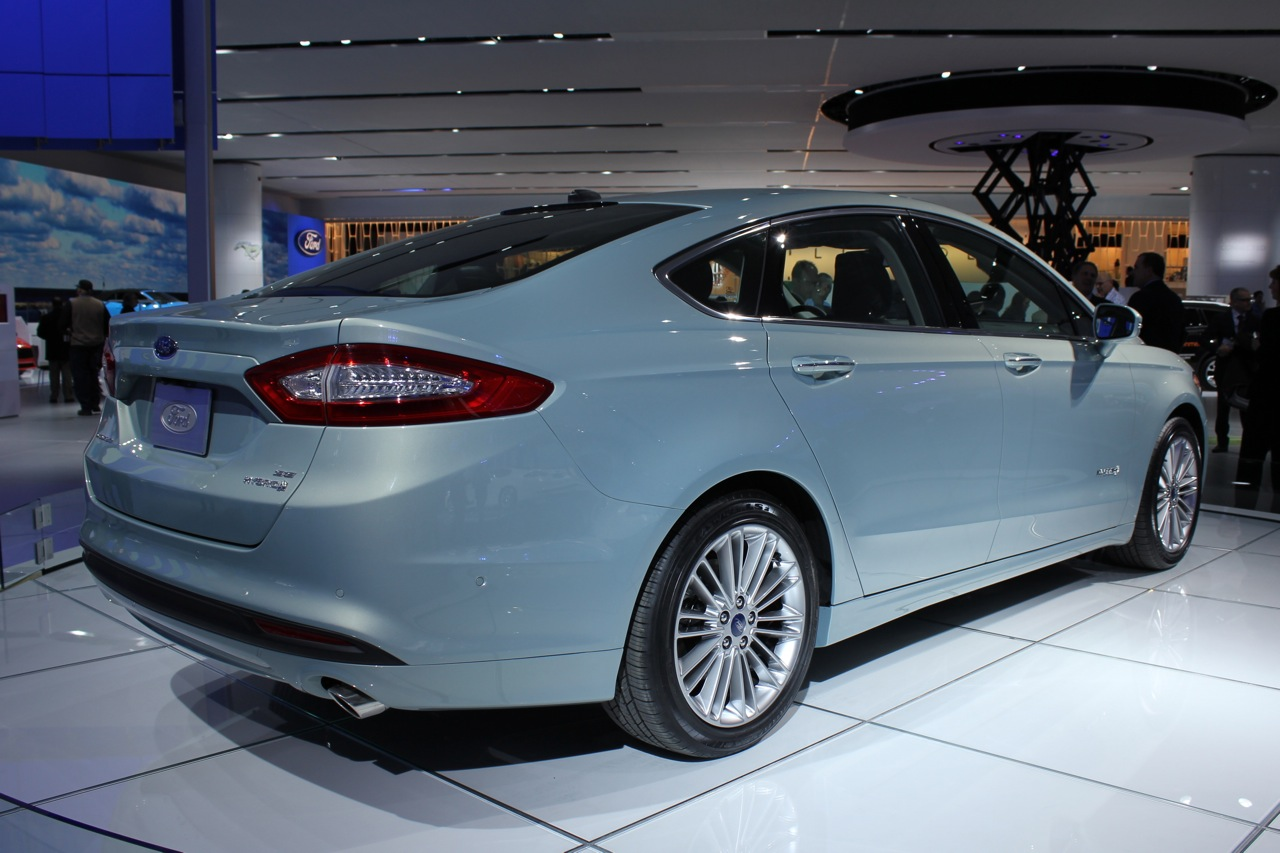 2013 Ford Fusion Hybrid Detroit 2012 Photos Photo Gallery
