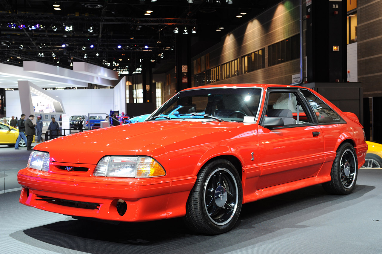 1993 Ford Mustang Svt Cobra R Chicago 2012 Photo Gallery Autoblog