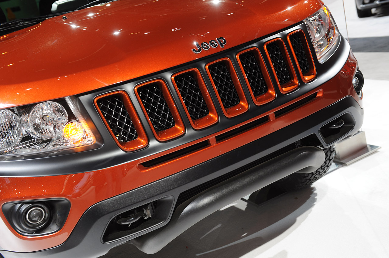 2012 Mopar Jeep Compass True North points... north? | Autoblog