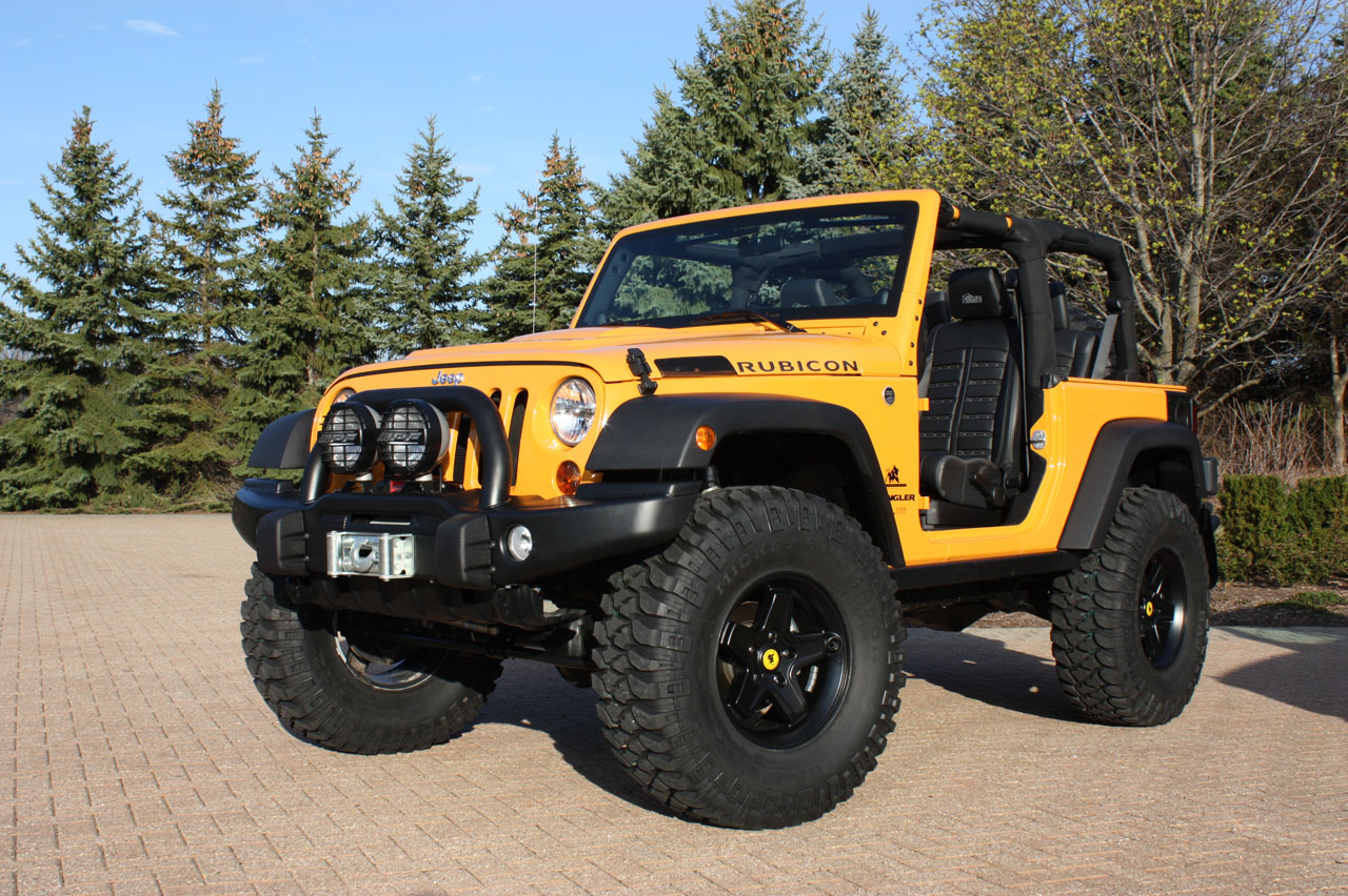 Jeep Drops Details On Six Easter Safari Concepts Autoblog Wrangler Outline Of Course The J 12 Concept Above Left Is Equally Delicious In Its Own Right An Extended Version Jk 8 Pickup Began Life As A