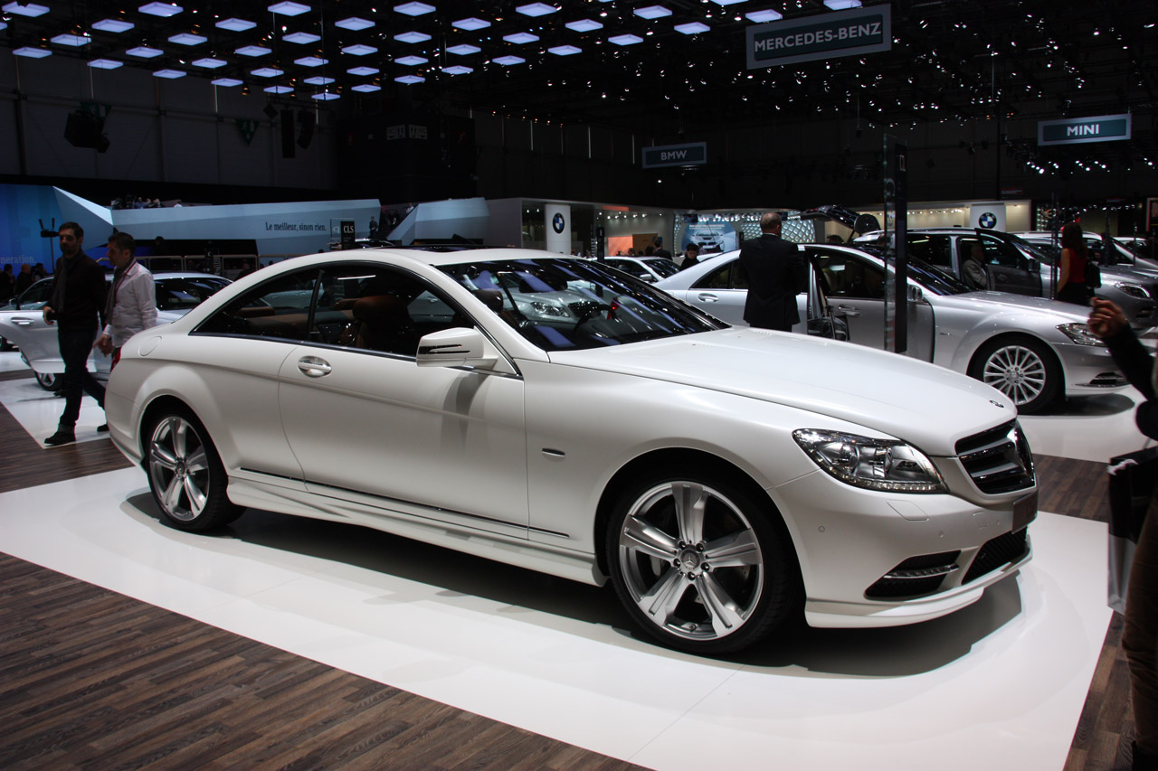 Mercedes-Benz CL-Class News and Reviews - Autoblog