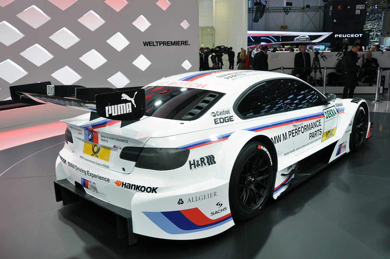Certified Pre Owned Bmw >> 2012 BMW M3 DTM race car looks fast sitting still - Autoblog