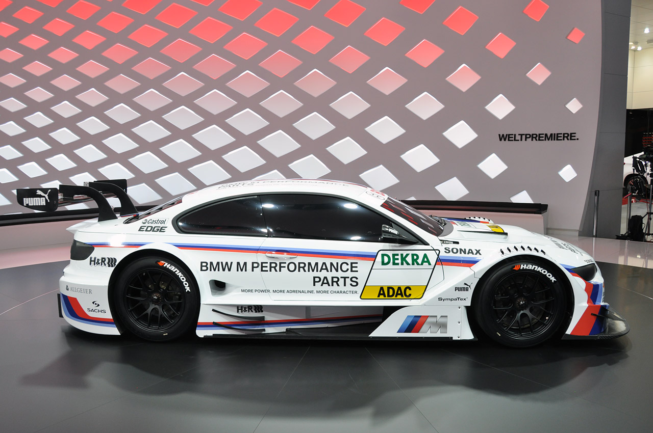 BMW Pre Owned >> 2012 BMW M3 DTM race car looks fast sitting still - Autoblog