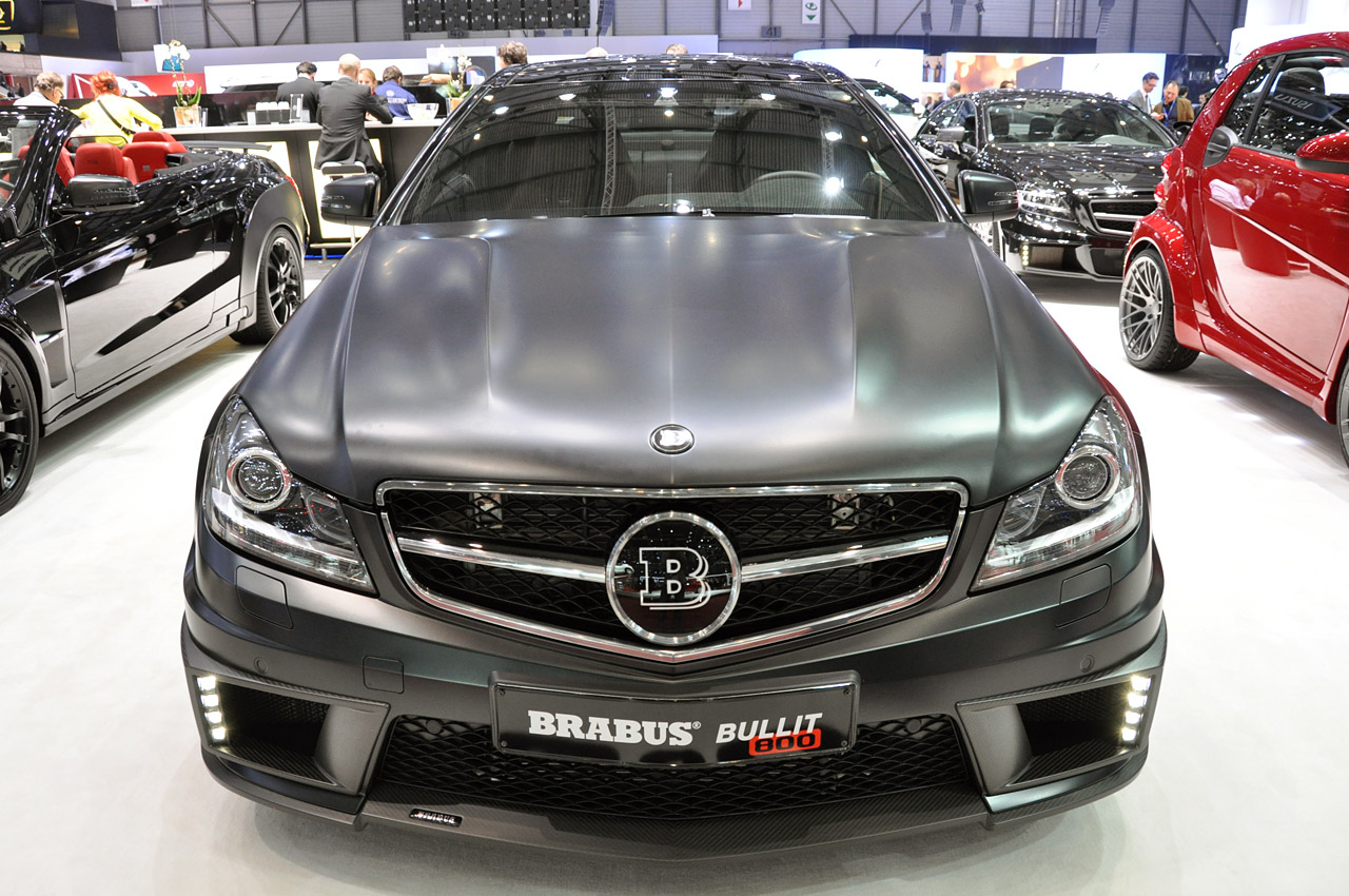 "Auto Repair Cost >> Brabus Bullit Coupe 800 is German for ""hot rod"" - Autoblog"