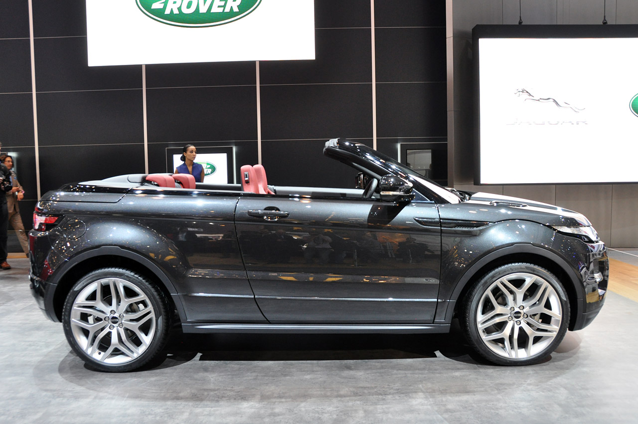 range rover evoque convertible unlikely to see production autoblog. Black Bedroom Furniture Sets. Home Design Ideas
