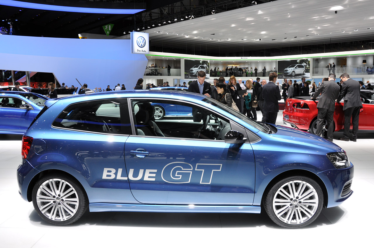 2012 Volkswagen Polo Blue Gt Mixes Fun And Frugality