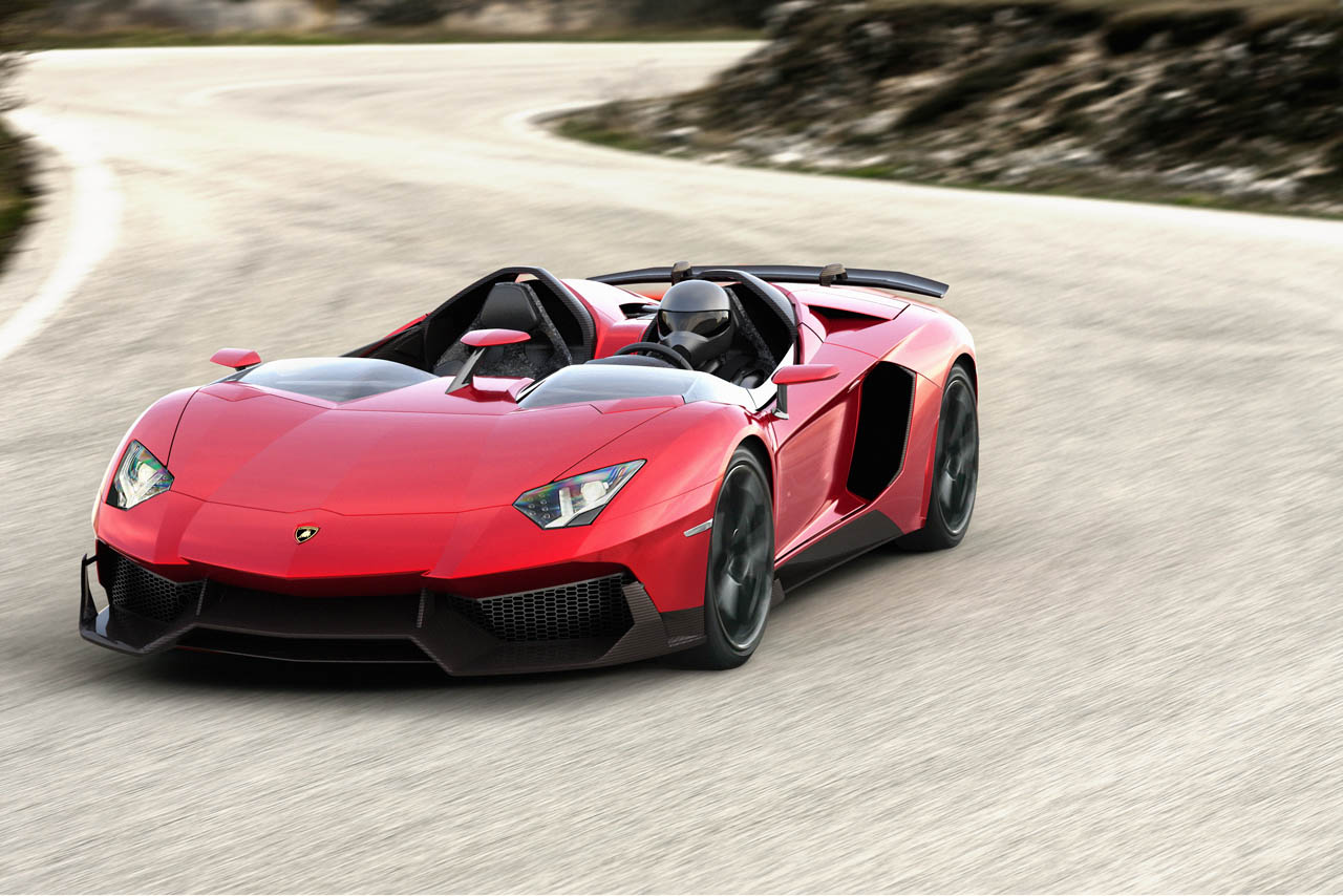 Lamborghini Aventador J roadster is a sport bike built for ...