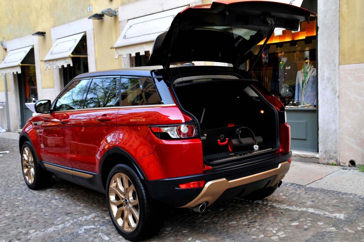 Black Book Car Values >> Range Rover and Aznom craft a special Evoque for Bollinger ...