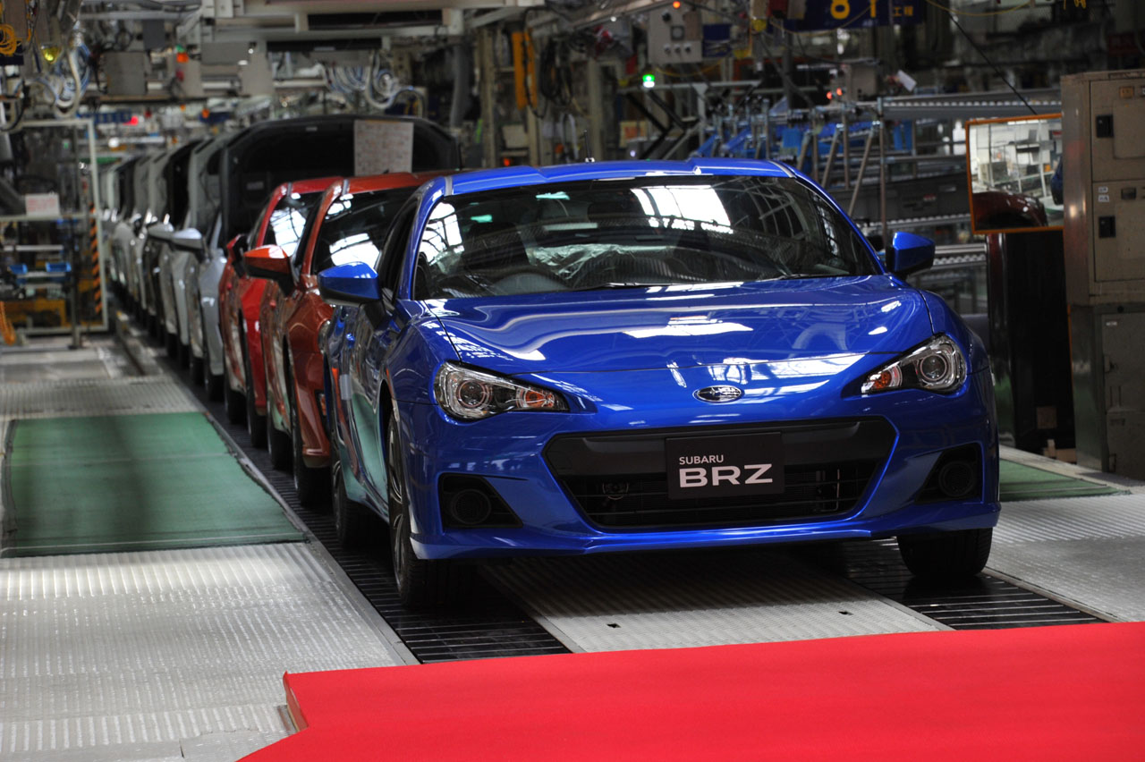 Toyota Certified Pre Owned >> Subaru BRZ and Toyota GT 86 production gets underway [w ...