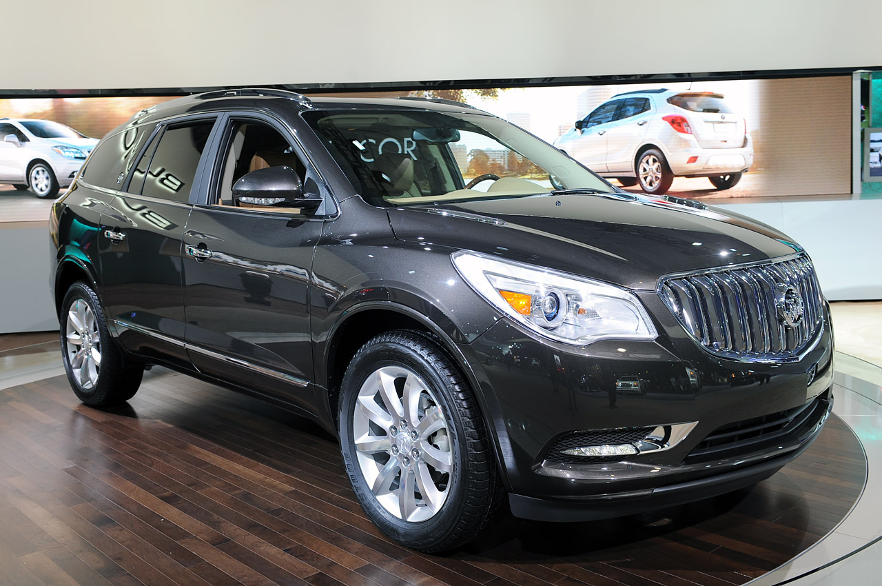 2013 Buick Enclave Does A Slightly Different Song And