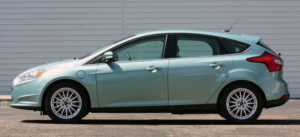 2017 Ford Focus Electric Side View