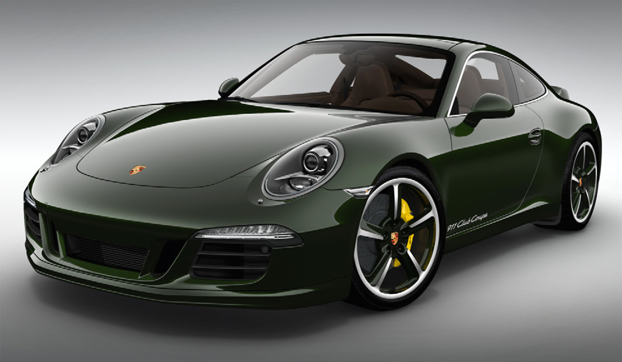 porsche announces super exclusive 911 club coupe autoblog. Black Bedroom Furniture Sets. Home Design Ideas