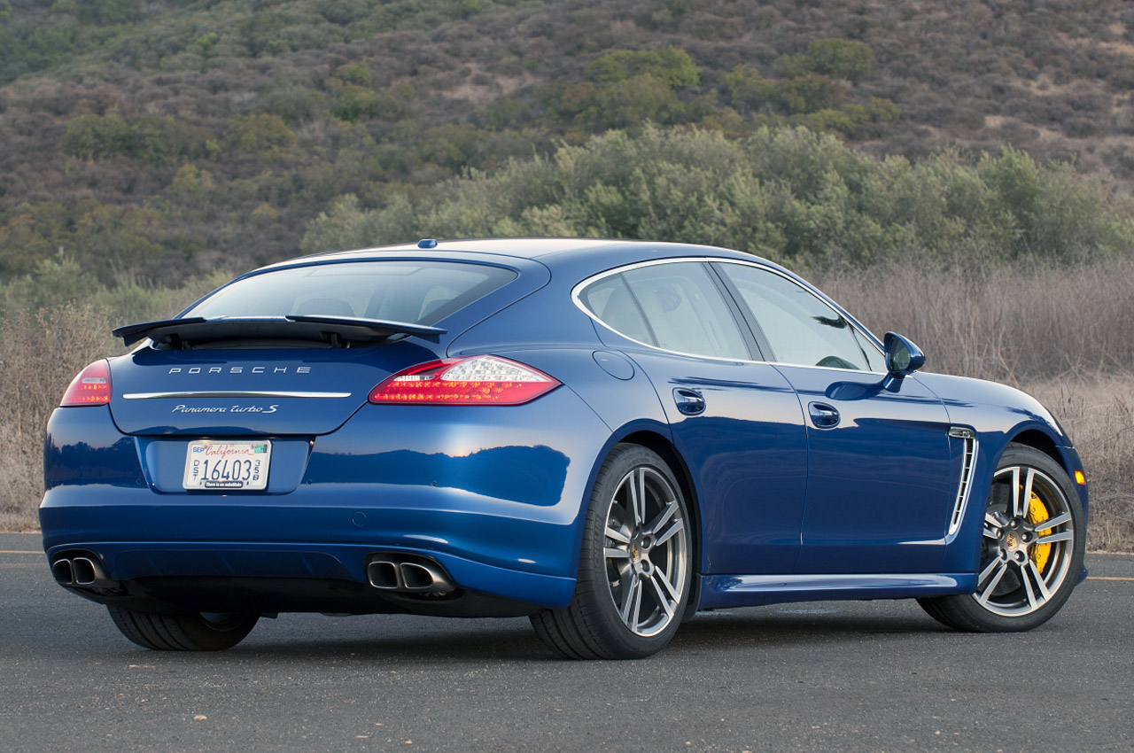 2012 Porsche Panamera Turbo S Review [w/video]
