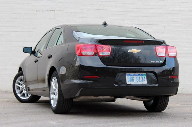 2017 Chevrolet Malibu Eco Rear 3 4 View