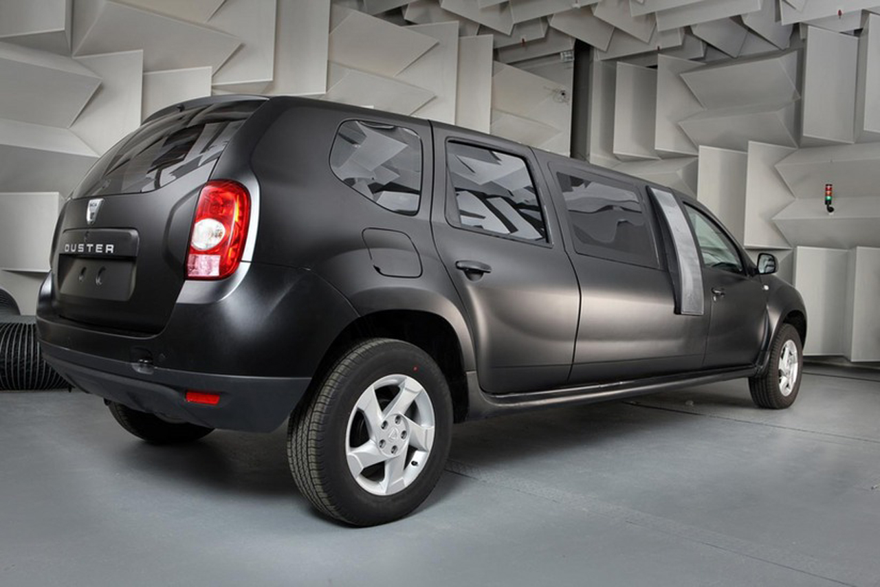 dacia duster limousine an ambitious student project w video autoblog. Black Bedroom Furniture Sets. Home Design Ideas