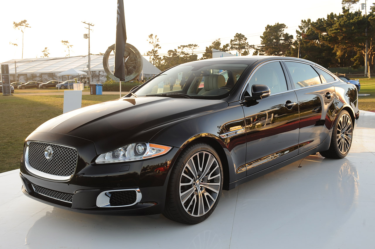 Black Book Car Values >> Jaguar XJL Ultimate, XJ AWD show up at Pebble Beach - Autoblog