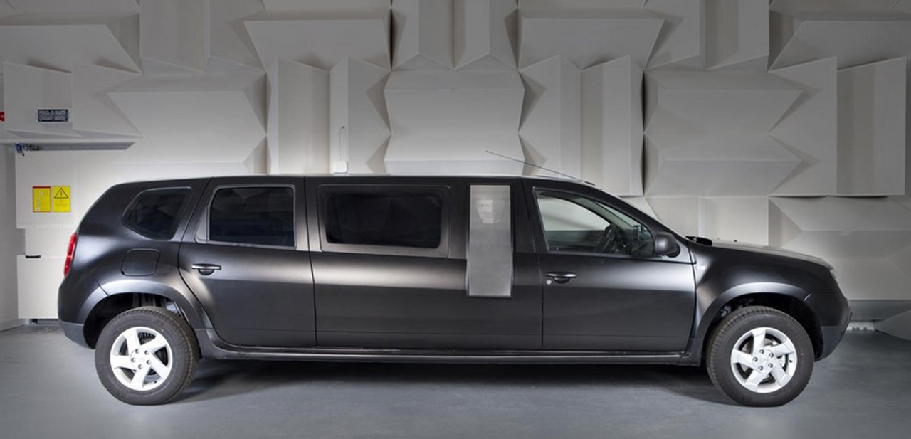 Dacia Duster limousine an ambitious student project [w/video] - Autoblog