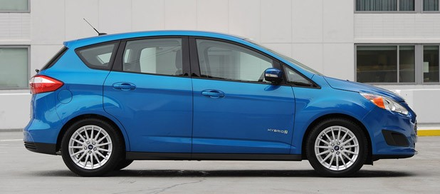 2017 Ford C Max Hybrid Side View