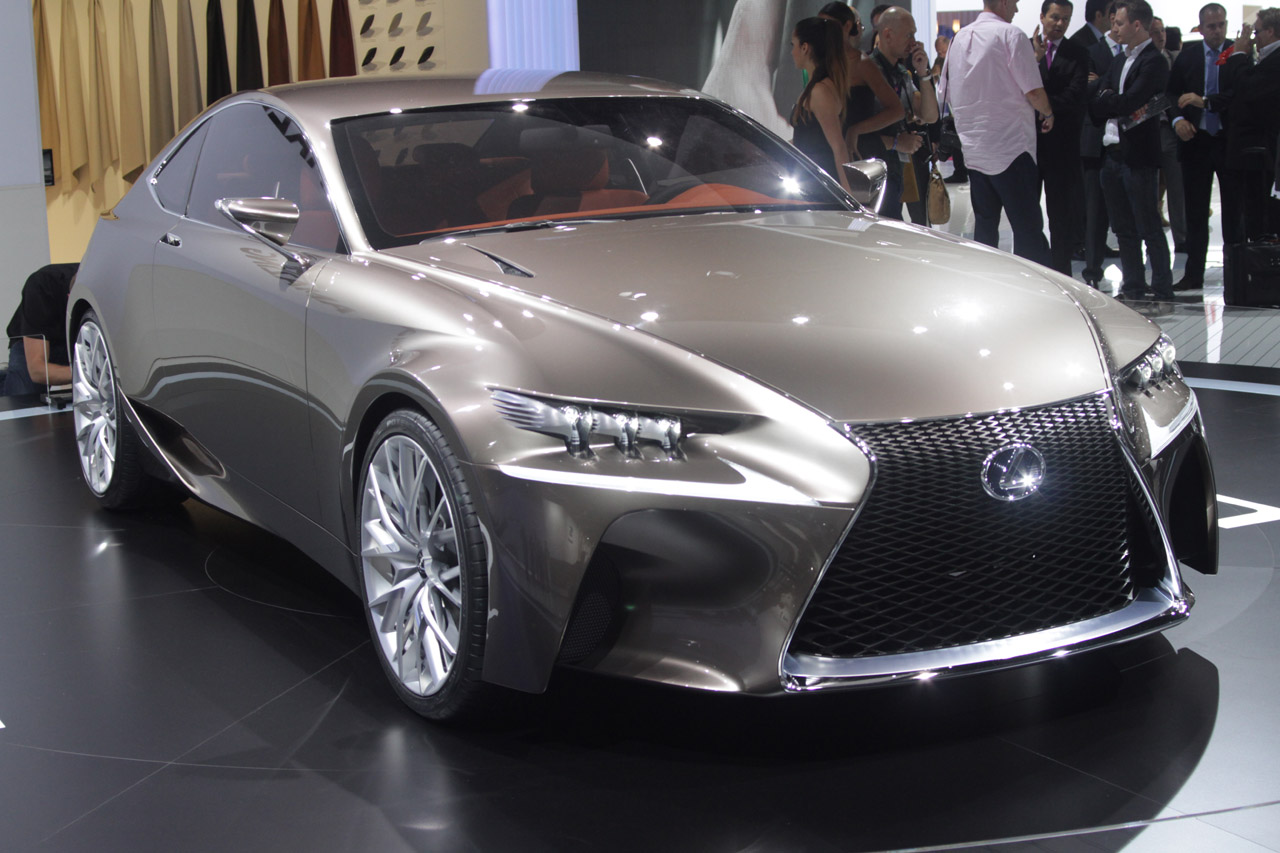 Black Book Car Values >> Lexus LF-CC Concept is a tidy, welcome look into brand's ...