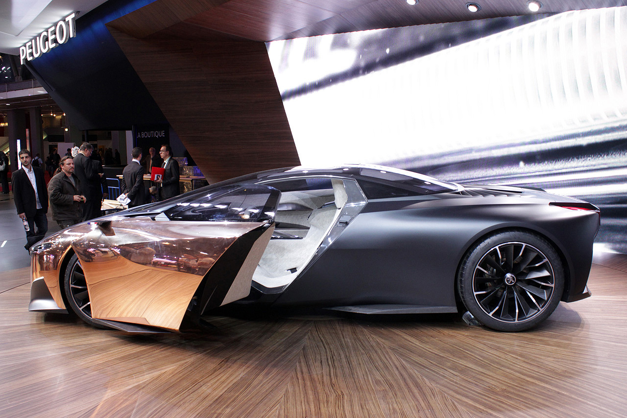 Peugeot's Onyx Hybrid Supercar May Be The Belle Of The