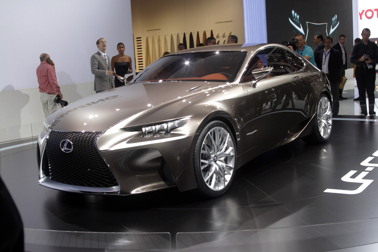 Usaa Auto Loans >> Live pictures of the Lexus LF-CC (next generation Lexus IS ...