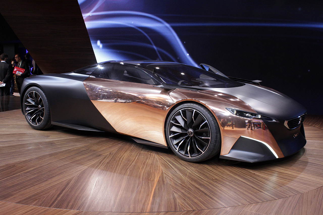 Peugeot Onyx Concept Paris 2012 Photo Gallery Autoblog