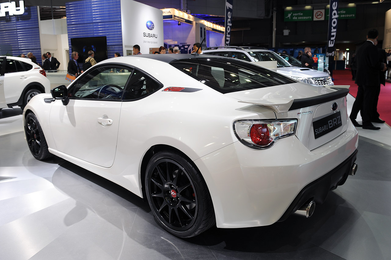 subaru brz xt line concept paris 2012 photo gallery autoblog. Black Bedroom Furniture Sets. Home Design Ideas