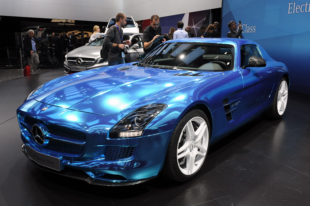 Mercedes Benz Sls Amg For Sale >> Mercedes-Benz SLS AMG Electric Drive offers guilt-free, zero-emission supercar fun... for $537K ...