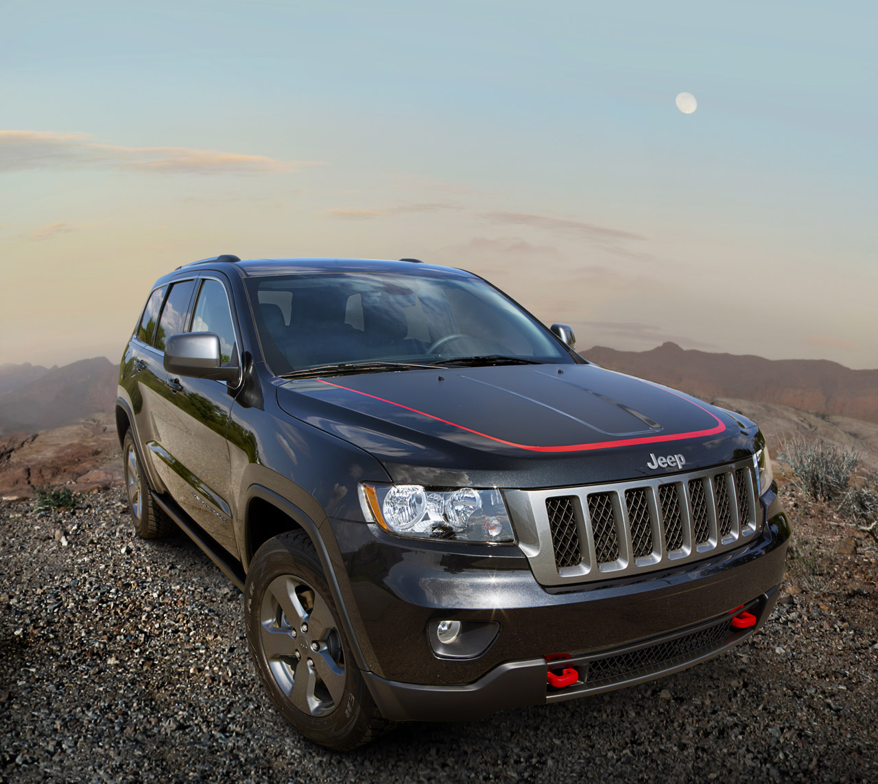 2013 Jeep Grand Cherokee Trailhawk And Wrangler Moab