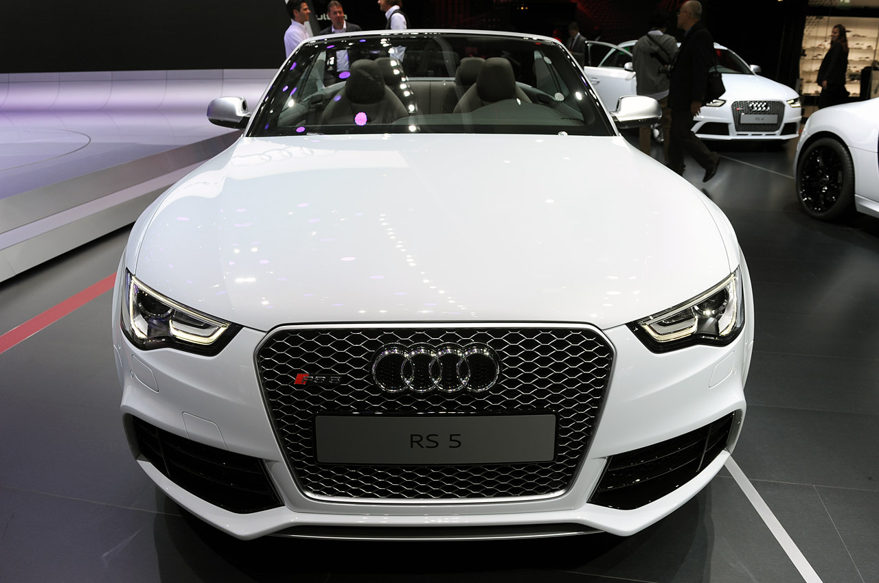 Audi Rs5 Cabriolet Debuts In Paris Confirmed For U S In