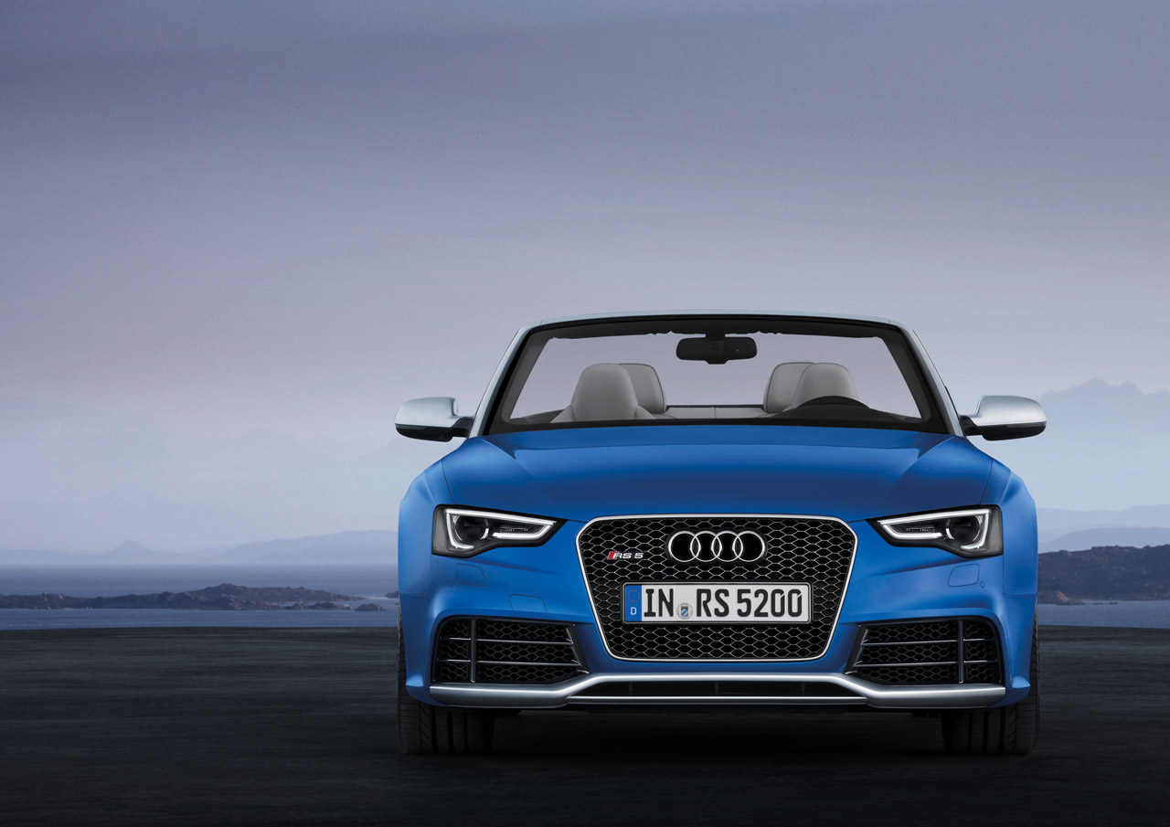 Pre Owned Audi >> Audi debuts 450-HP RS5 Cabriolet - Autoblog