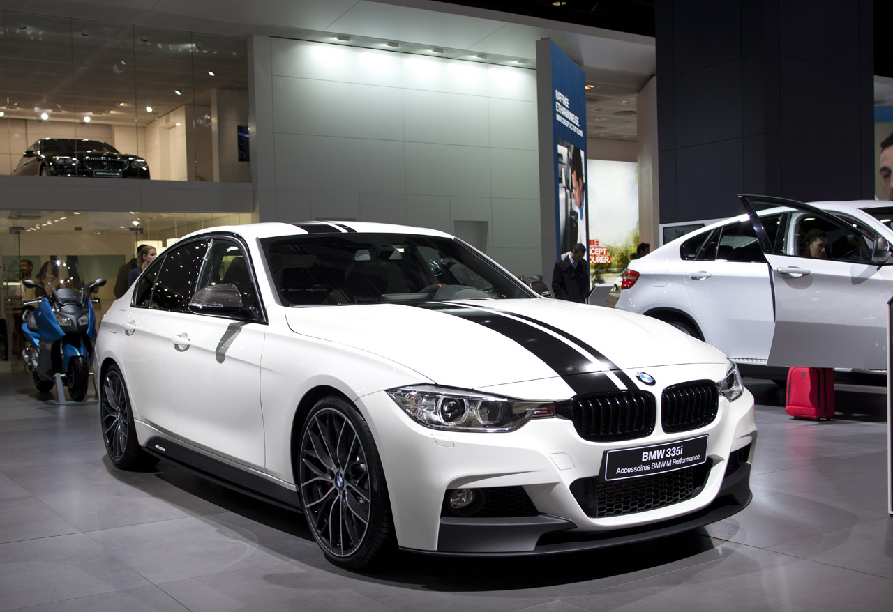 bmw debuts m performance add ons for 3 series autoblog. Black Bedroom Furniture Sets. Home Design Ideas