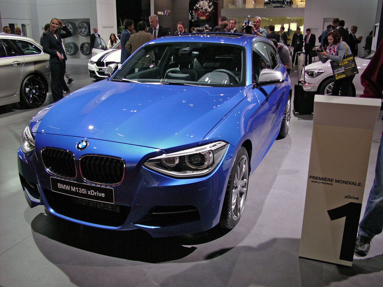 Certified Pre Owned BMW >> 2013 BMW M135i xDrive adds all-wheel drive to performance ...