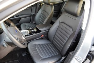 2017 Ford Fusion Interior Front Seats