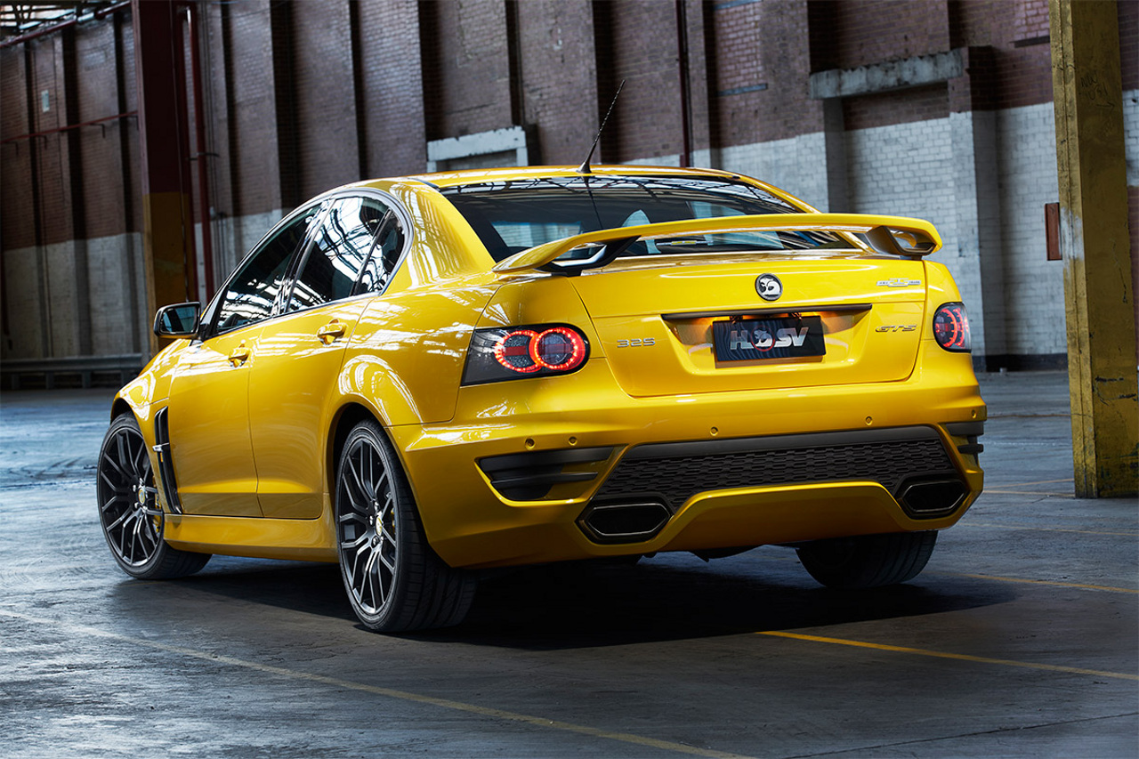 Holden could send the Commodore off as a four-door ZR1 ...