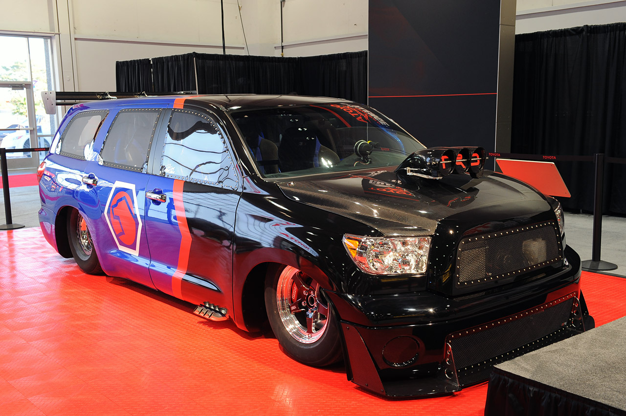Toyota Sequoia For Sale >> Toyota owes us a 9-second car, presents us with DragQuoia ...