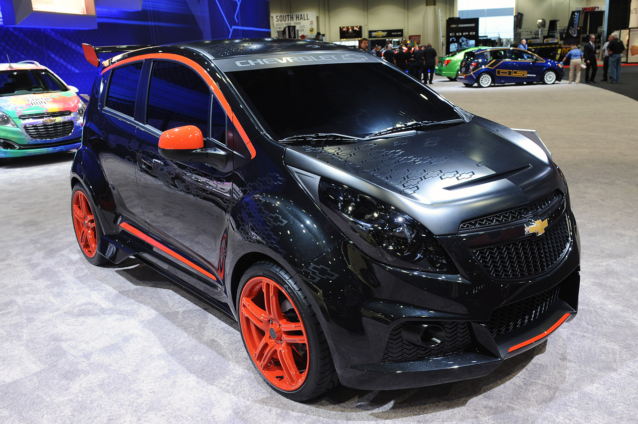 Chevrolet Spark Customs Sema 2012 Photo Gallery Autoblog