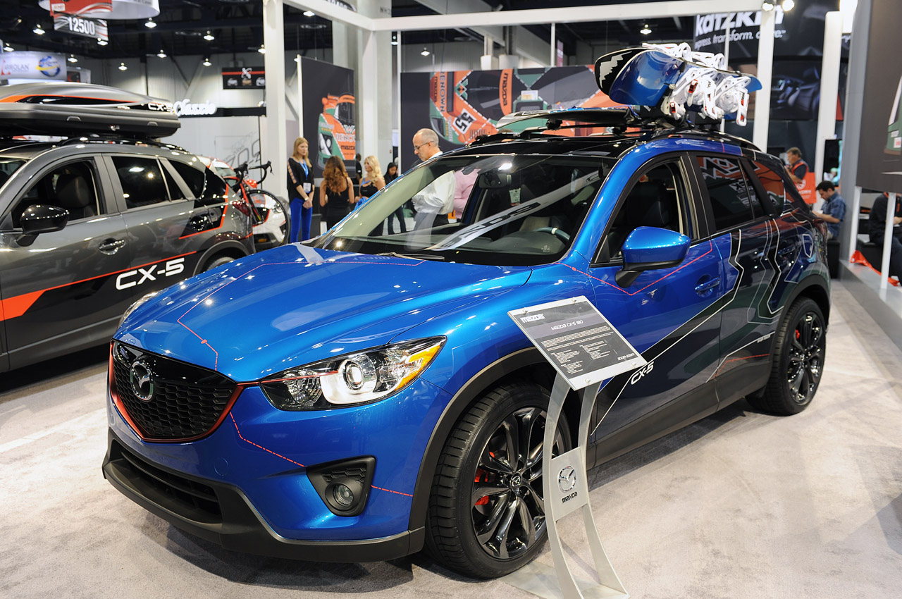Mazda Certified Pre Owned >> Mazda brings trio of tricked-out CX-5s to Vegas | Autoblog