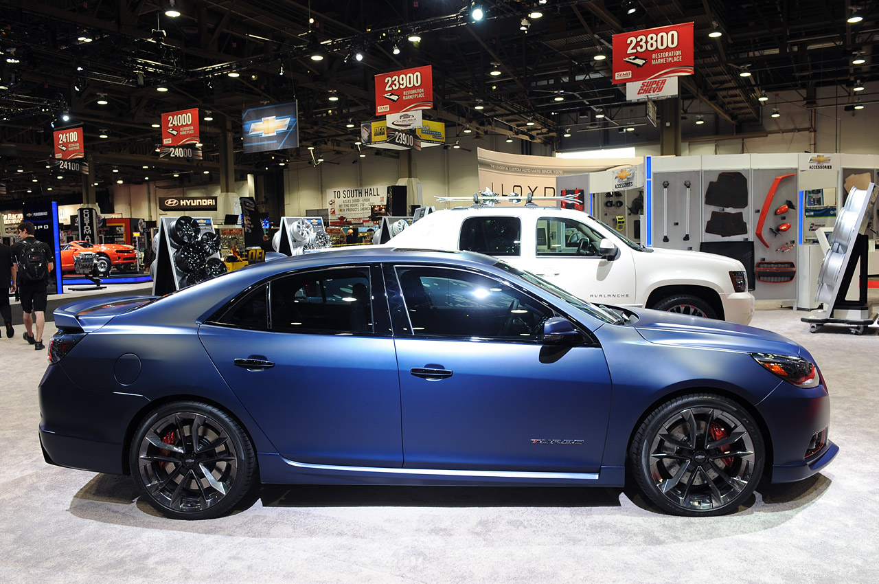 Chevy Malibu Turbo Performance Concept is hotted up for ...