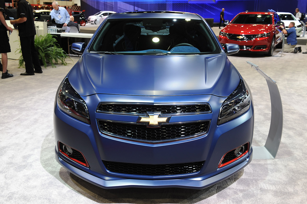 Chevrolet Malibu Turbo Performance Concept: SEMA 2012 ...