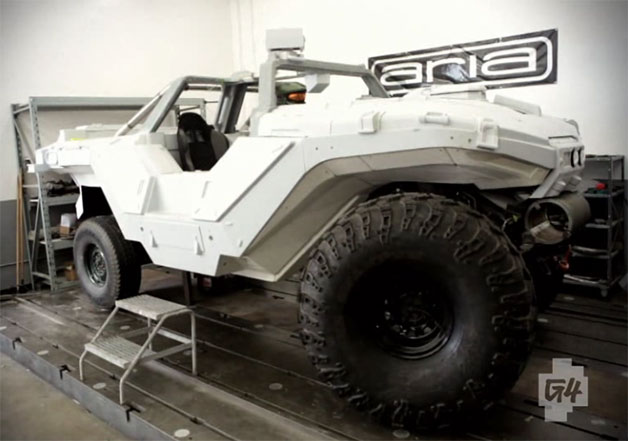 Real Life Halo Vehicles: Real-life Warthog From Halo Ready To Take Master Chief