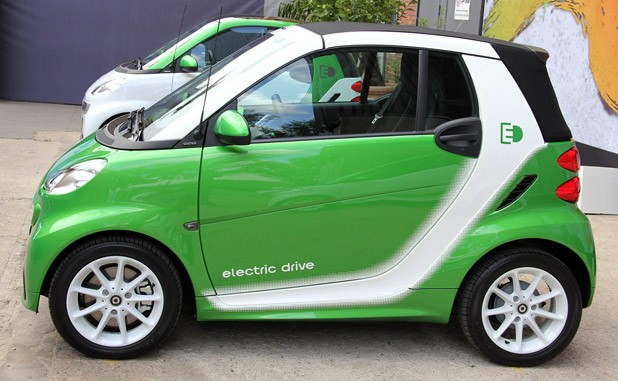 2017 Smart Fortwo Electric Drive Side View