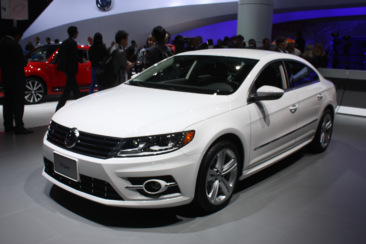 2013 volkswagen cc r line looks to recapture some flash autoblog. Black Bedroom Furniture Sets. Home Design Ideas