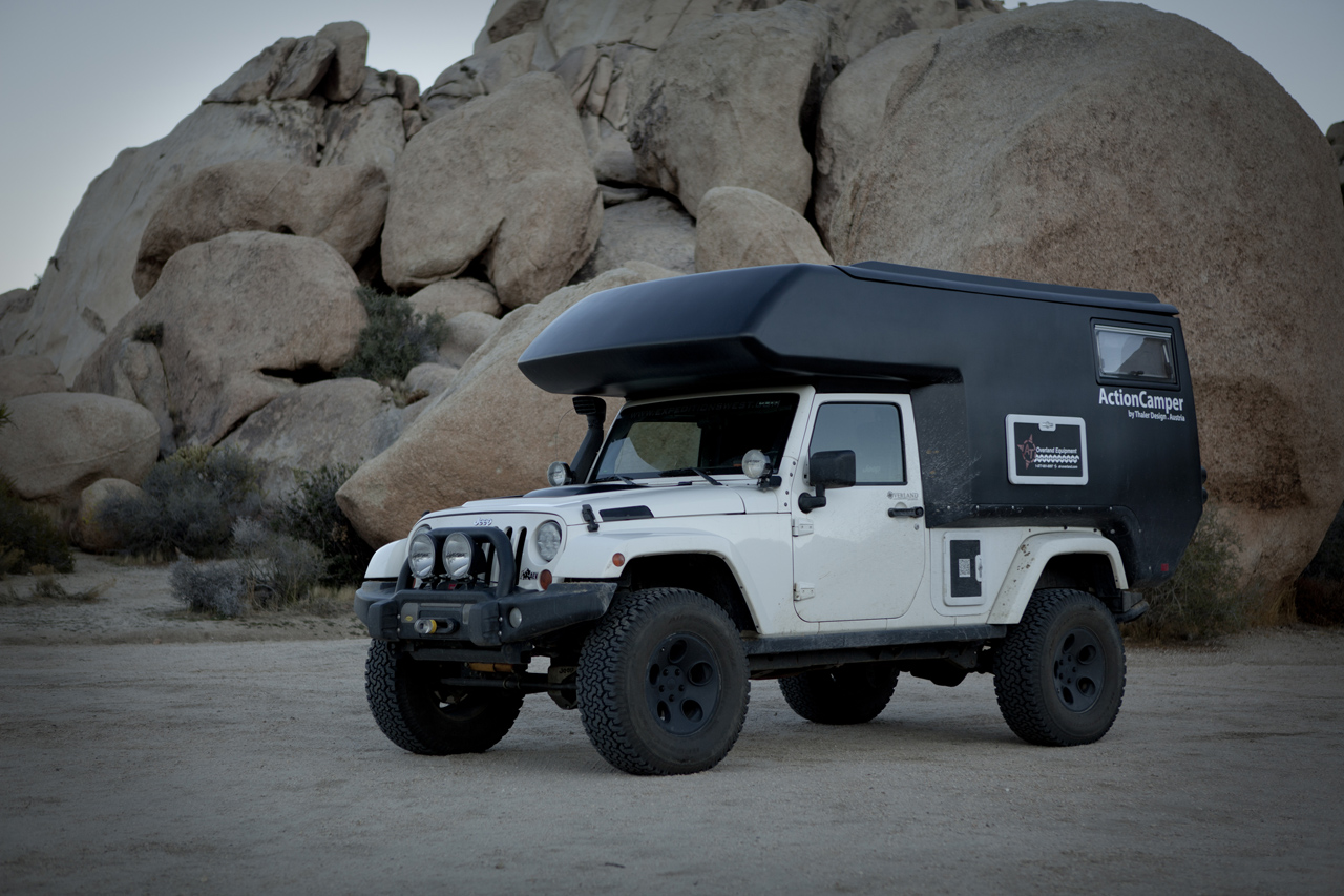 jeep wrangler actioncamper by thaler design photo gallery autoblog. Black Bedroom Furniture Sets. Home Design Ideas