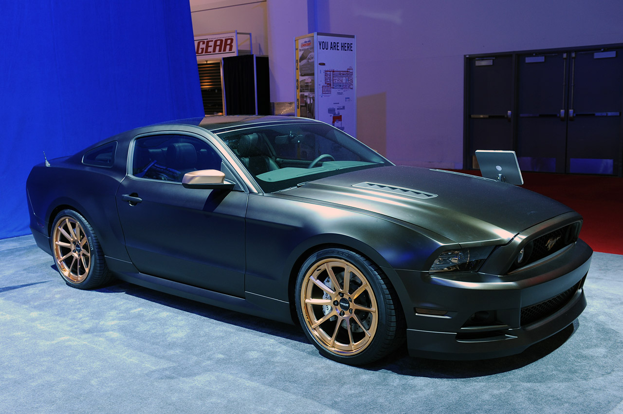 2013 ford mustang build powered by women sema 2012 photo gallery autoblog