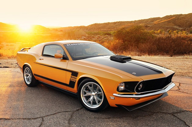 transforming a late model mustang into a classic hot rod. Black Bedroom Furniture Sets. Home Design Ideas