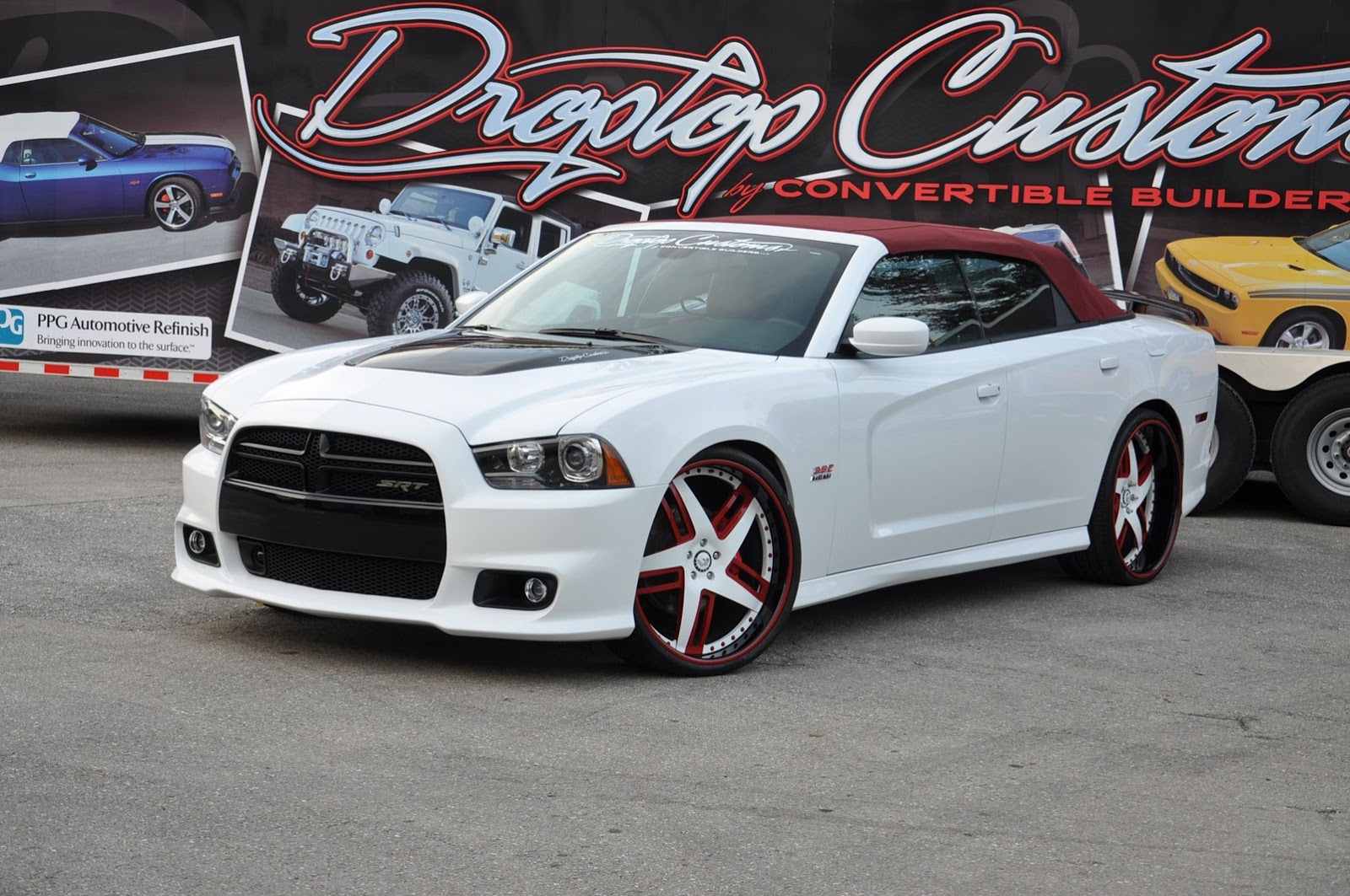 Drop Top Customs Chrysler 300 and Dodge Charger SRT8 Photo ...
