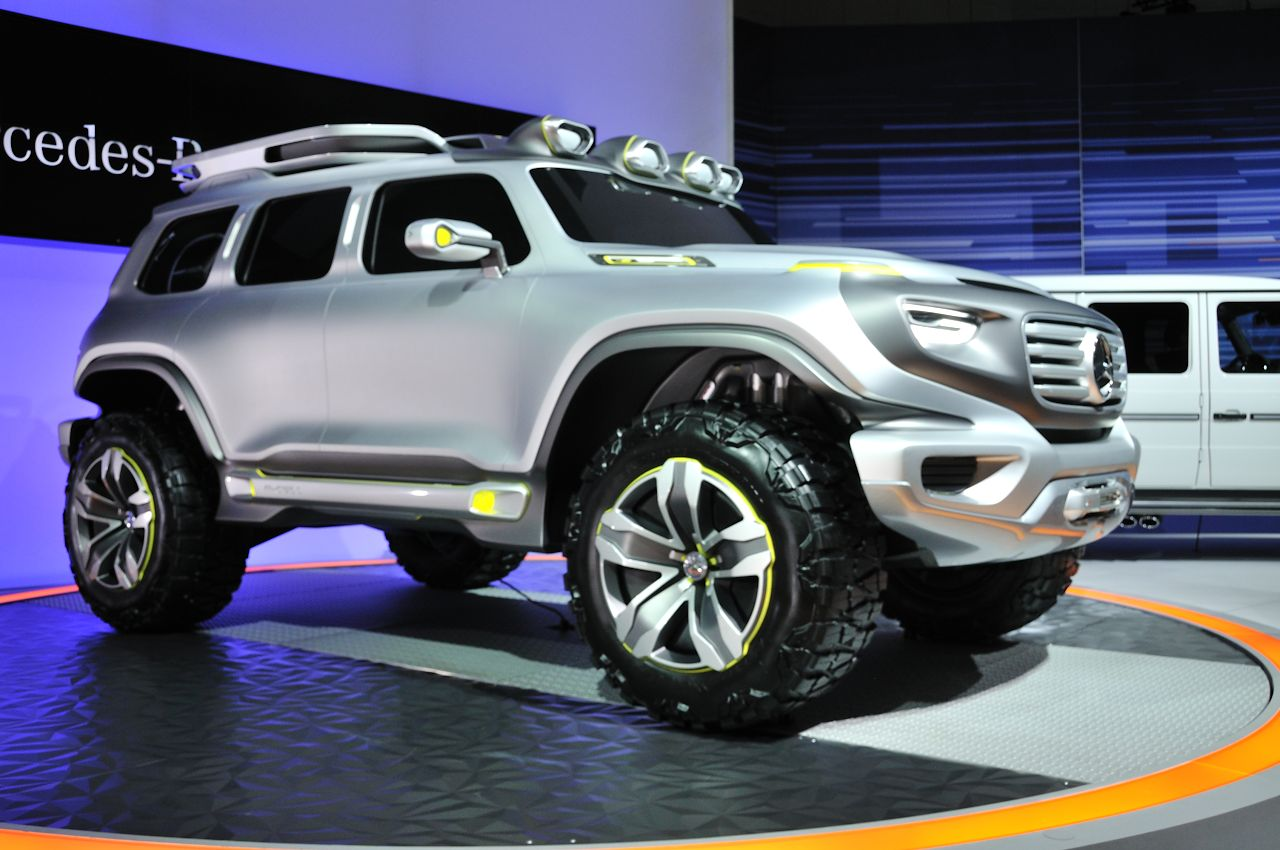 Certified Pre Owned Mercedes >> Mercedes-Benz Ener-G-Force Concept is mean, clean and ...