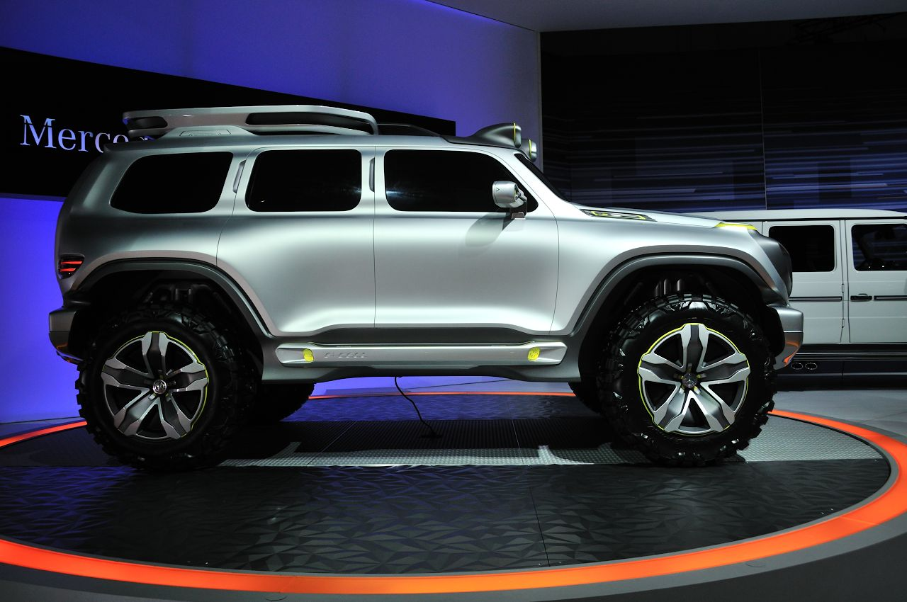 Mercedes Benz Ener G Force Concept Is Mean Clean And
