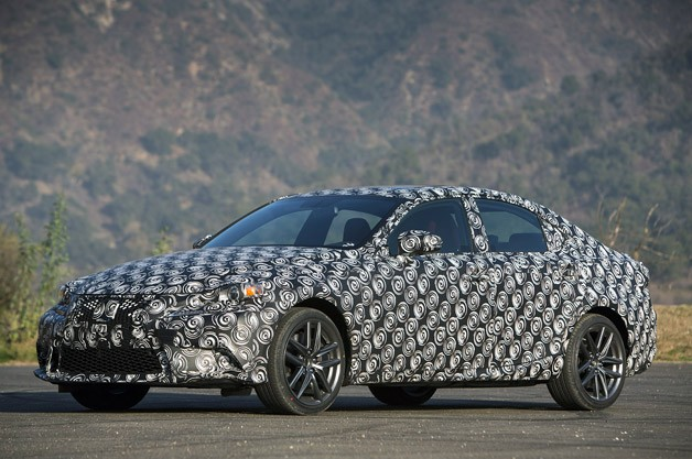 2014 Lexus Is Will Be Sportier And Will Offer An Improved